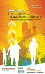 Séminaire changement climatique