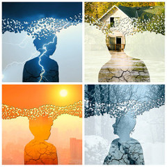 Impacts psychosociaux les changements climatiques
