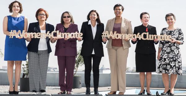 L'action des femmes contre les changements climatiques